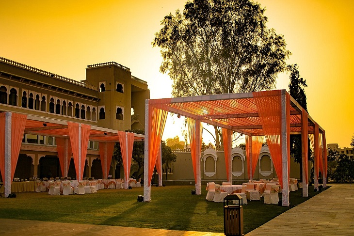 Cost of a destination wedding at the Lakend, Udaipur